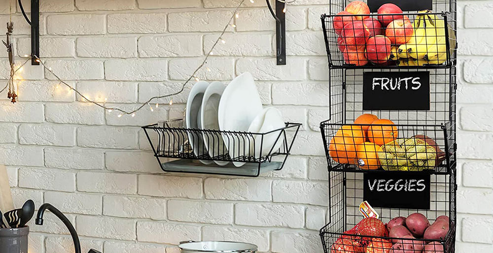 Kitchen Renovations - Hanging and Rolling Shelves